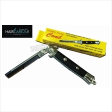 Barber Folding Pocket Switch Blade Comb for Pomade