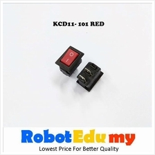 KCD11-101 Rocker switch Red Button 10*15mm
