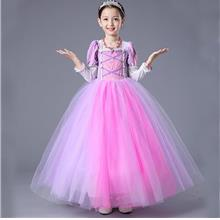 Elegant Princess Repunzel Sofia Pretty Long Dress)