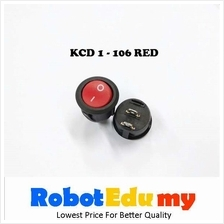 KCD1-106 Rocker Switch Red Button