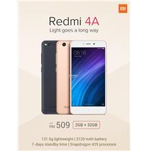 (ORIGINAL) XIAOMI WARRANTY Redmi 4A 2GB RAM 32GB 13MP