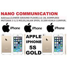 (ORIGINAL) APPLE MALAYSIA WARRANTY Apple iPhone 5S GOLD