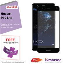 Huawei P10 Lite 4D Full Cover Tempered Glass Protector 0.26mm + 9H Har..