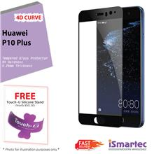 Huawei P10 Plus 4D Full Cover Tempered Glass Protector 0.26mm + 9H Har..