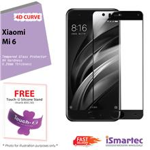 Xiaomi Mi 6 4D Full Cover Tempered Glass Protector 0.26mm + 9H Hardnes..