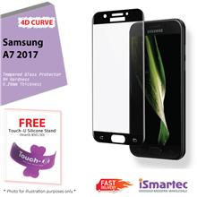 Samsung Galaxy A7 2017 A720F 4D Full Cover Tempered Glass Protector 0...