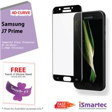Samsung Galaxy J7 Prime / On 7 G610F 4D Full Cover Tempered Glass Prot..