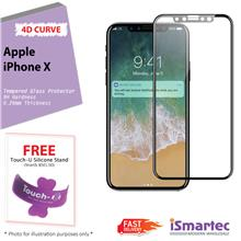 Apple iPhone X 4D Full Cover Tempered Glass Protector 0.26mm + 9H Hard