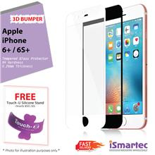 Apple iPhone 6 Plus 3D Full Bumper Tempered Glass Protector 0.26mm + 9..