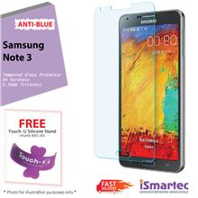 Samsung Galaxy Note 3 N7500 Anti-Blue Tempered Glass Protector 0.26mm ..