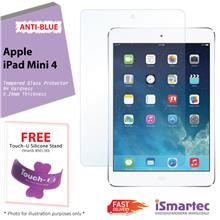 Apple iPad Mini 4 Anti-Blue Tempered Glass Protector 0.26mm + 9H Hardn