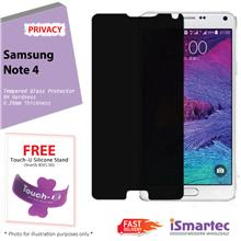 Samsung Galaxy Note 4 N910F Privacy Tempered Glass Protector 0.26mm +
