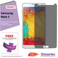 Samsung Galaxy Note 3 N7500 Privacy Tempered Glass Protector 0.26mm +
