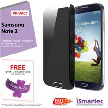 Samsung Galaxy Note 2 N7100 Privacy Tempered Glass Protector 0.26mm +