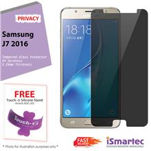 Samsung Galaxy J7 (2016) J710F Privacy Tempered Glass Protector 0.26mm