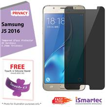 Samsung Galaxy J5 (2016) J510F Privacy Tempered Glass Protector 0.26mm