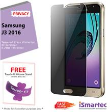 Samsung Galaxy J3 (2016) J320F Privacy Tempered Glass Protector 0.26mm