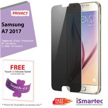Samsung Galaxy A7 (2017) A720F Privacy Tempered Glass Protector 0.26mm