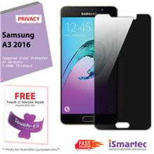 Samsung Galaxy A3 (2016) A310F Privacy Tempered Glass Protector 0.26mm