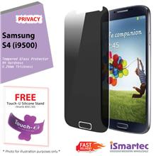 Samsung Galaxy S4 i9500 Privacy Tempered Glass Protector 0.26mm + 9H H