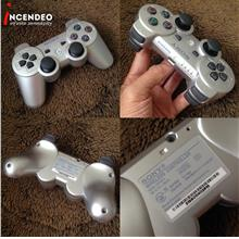 **incendeo** - SONY PS3 Dualshock3 SIXAXIS Silver Wireless Controller