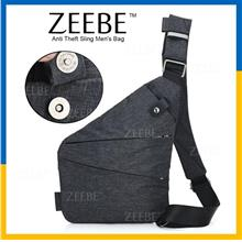 ZEEBE Sling Bag Anti Theft Shoulder Crossbody Backpack Lightweight