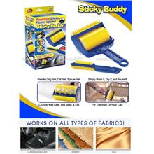 Sticky Buddy Washable Lint, Fur, Dust, Fabric Furniture Cleaner. Grab