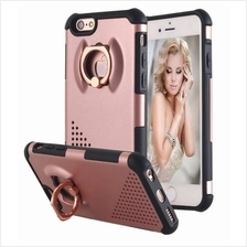 Iphone 7 8 2 in 1 Tough Hybrid Armor Phone Case Cover With Ring