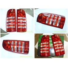 DEPO Toyota 04 Hilux Vigo Tail Lamp Crystal [Red/Clear]