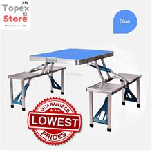 Portable Folding Table  (Metal Alloy-Heavy Duty)
