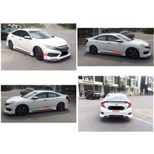 Honda Civic FC '16 STROM Full Set Body Kit ABS Material Painted