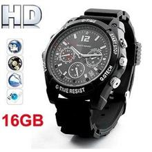 HD 16GB Watch Camera With Night Vision (WCH-12C16GB).
