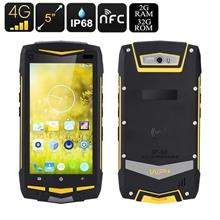 4G Rugged Smartphone (NFC, 2GB RAM, Walkie Talkie) (WP-V1).