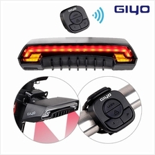 Giyo Bicycle Wireless Control Laser Rear Indicator Signal LED Light