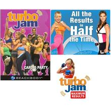 Beachbody Turbo Jam Complete Home Fitness System by Chalean in 2 DVDs