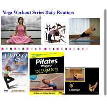 Your Complete Yoga Exercise , Pilates Complete 2 DVDs NEW EDITION