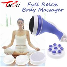 Full Relax Body Massager With 5 Headers Relax Spin Tone Lose Weight