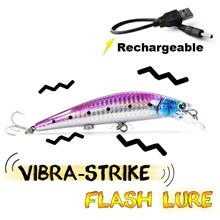 Fishing Bait Useful Rechargeable Twitching Fishing Lures Bait USB