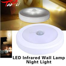 LED Infrared Wall Lamp Night Light Auto On/Off Indoor/Outdoor Stairway