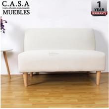 LIKEBUG: MARC ARMLESS DESIGN 2 SEATER SOFA