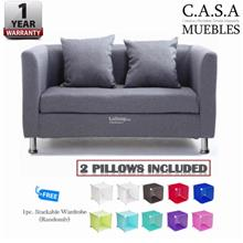 Like Bug - Louisse (3) Seater VELVET Sofa