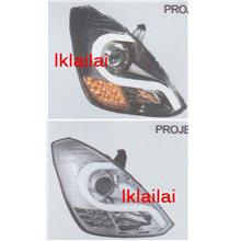 Hyundai Starex '07 Light Bar LED Projector Head Lamp + LED Signal