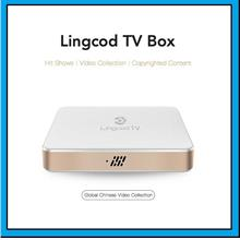[ 3years Subscription ] Lingcod TV Box LS5 Smart Android 6.0 OTT