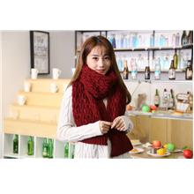 NEW Winter Scarf Knitted Thick Warm Long Shawl Scarves Ready Stock