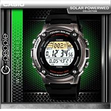 CASIO W-S200H-1A SOLAR POWERED WATCH ☑ORIGINAL☑