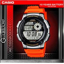 CASIO AE-1000W-4BV WORLD TIME WATCH☑ORIGINAL☑