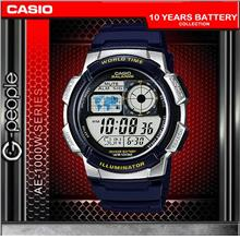 CASIO AE-1000W-2AV WORLD TIME WATCH☑ORIGINAL☑