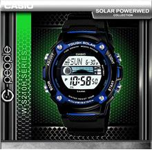 CASIO W-S210H-1AV SOLAR POWERED WATCH ☑ORIGINAL☑
