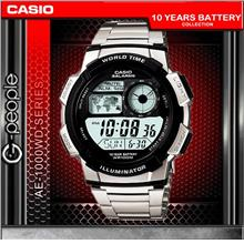 CASIO AE-1000WD-1AV WORLD TIME WATCH☑ORIGINAL☑