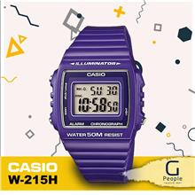CASIO W-215H-6AV STANDARD DIGITAL WATCH ☑ORIGINAL☑